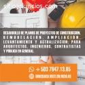 ELABORACION DE PLANOS DE PROYECTOS
