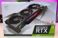 GEFORCE RTX 3090, 3080, 3070, 3060, Rade