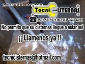 Limpieza y desinfección de cisternas