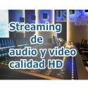 Live Streaming Audio con calidad de audi