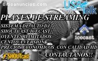 Live Streaming Audio con calidad de audi