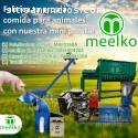 Mini Planta Meelko MKFD260A para marrano