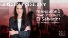 Transword- Traducciones El Salvador