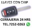 CERRAJERIA 24 HORAS TEL.7252-0263,