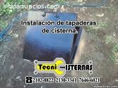 Desinfección de cisternas
