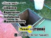 Limpieza de cisternas residenciales
