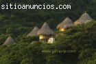 Parque Tayrona, ecohabs, cabañas,