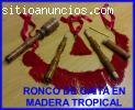 VENDO RONCO MADERA TROPICAL GAITA