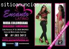 Moda Brasilera y Colombiana para Mujeres