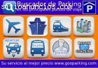 Buscador de parking en los principales p