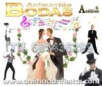 animadores de bodas Madrid