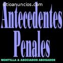 Antecedentes penales traducidos