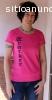 Camiseta mujer frase