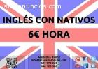 CLASES DE INGLÉS CON NATIVOS