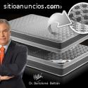 Colchón Memory Lux viscoelástica carbono