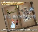 cuenta cuentos para niños Madrid