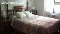 Dormitorio de 135 de madera maciza