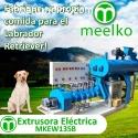 el equipo extrusora electrica MKEW135B