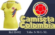 EN BARUH CAMISETAS DE COLOMBIA DEL MUNDI