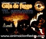 espectáculo de fuego Madrid