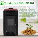 Estufa De Pellets MK-P04