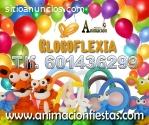 globofexia, figuras con globos Madrid