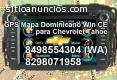 GPS Mapa Dominicano stereo Chevrolet Tah