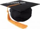 Graduarse de inmediato, sin estudiar y s