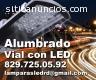 Iluminacion de carreteras con LED