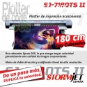 impresora StormJet SJ7180 con 2 cabezale