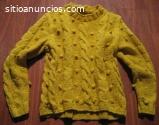 Jersey artesanal amarillo