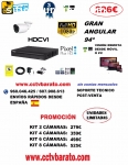 KIT VIGILANCIA EXTERIOR  FULL HD 94º