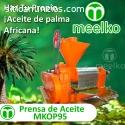 la maquina de prensa de aceite MKOP95