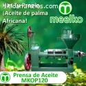 la prensa de aceite MKOP120