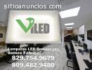 Lamparas LED en Dominicana. Somos Fabric