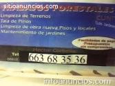 Limpieza,terrenos,corbella,663683536,vic
