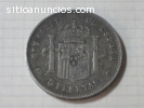 Lote de monedas y billetes antiguos