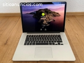 "MacBook Pro 15,4""; Retina, plata"