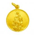 Medalla virgen de la consolación oro y p
