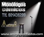 monóloguistas y cómicos para Valencia