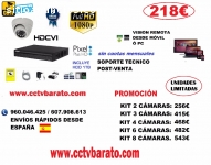 OFERTA KIT VIDEOVIGILANCIA 1080P FULL HD