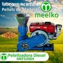 peletizadora diesel MKFD200A
