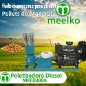 Pelitizadora Diesel MKFD300A