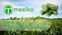 Planta de Briquetas Para Biomasa