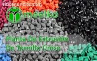 Planta De Extrusión De Tornillo Único MK