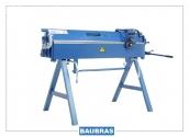 Plegadora manual 1400/2,5mm de aluminio