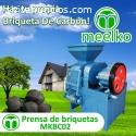 prensa de biquetas MKBC02
