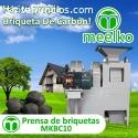 prensa de briqeutas MKBC10