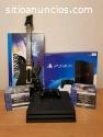 PS4-PRO-4K-1TB (Jet Black) + 18 juegos y