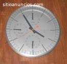 Reloj de cocina en aluminio